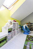 Unisex play room for kids Stock Photos