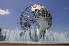Unisphere在Fushing草甸光环公园,女王/王后-纽约 库存图片
