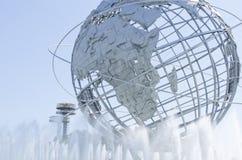Unisphere στη Νέα Υόρκη λιβαδιών ξεπλύματος Στοκ φωτογραφίες με δικαίωμα ελεύθερης χρήσης