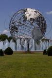 Unisphere στο πάρκο κορώνας λιβαδιών Fushing, βασίλισσες - Νέα Υόρκη Στοκ Εικόνα