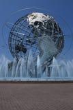 Unisphere στο πάρκο κορώνας λιβαδιών Fushing, βασίλισσες - Νέα Υόρκη Στοκ Εικόνες
