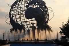 Unisphere, Corona Park. New York Stock Image