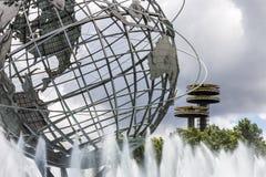 Unisphere, de Stad van New York stock foto's