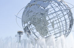 Unisphere in Flushing Meadows NY Royalty Free Stock Photos