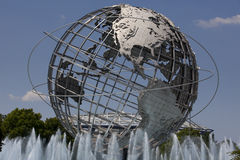 Unisphere in Fushing Meadows Corona Park, Queens - New York Royalty Free Stock Images