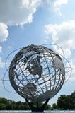 """Unisphere - Meadows†que limpia con un chorro de agua """"Corona Park, nuevo Yo foto de archivo libre de regalías"""