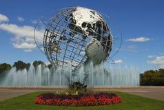 Unisphere in New York Stock Foto's