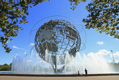 Unisphere in New York Stock Afbeelding