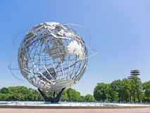 Unisphere and New York State Pavilion Stock Images