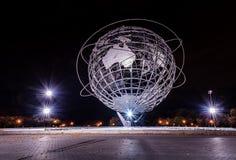 Unisphere - världsmässa - Queens, New York arkivfoton