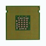 Unità centrale di elaborazione del CPU del computer fotografie stock libere da diritti