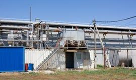 Unità del compressore dell'ammoniaca del tipo del contenitore Immagine Stock Libera da Diritti