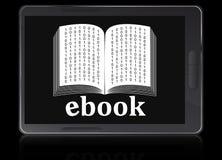 Unità del lettore di Ebook Immagine Stock