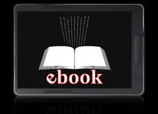 Unità del lettore di Ebook Fotografie Stock Libere da Diritti