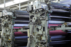 Unità del rullo dell'inchiostro immagine stock
