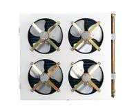 Unità di condensazione 2 dell'aria Fotografia Stock Libera da Diritti