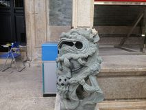 Unità di protezione delle reliquie culturali di Shenzhen, Wang Dazhong Cheng Temple Fotografia Stock