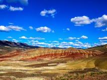Unità dipinta John Day Fossil Beds delle colline Fotografia Stock