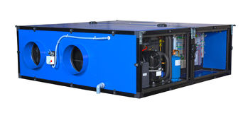 Unità per gli stagni dell'interno, tipo underceiling di ventilazione fotografia stock