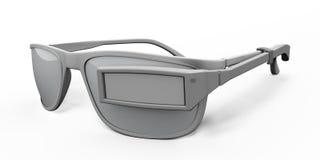 Unità portabile degli occhiali illustrazione vettoriale