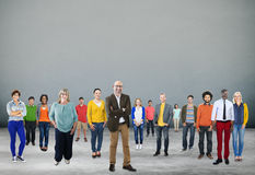Unità Team Concept corporativo della Comunità della gente Immagini Stock
