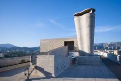 Unitèd'habitation, Marseille, Frankrijk stock afbeelding