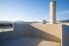Unitèd'habitation, Marseille, Frankrijk royalty-vrije stock fotografie