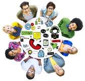 Unité C d'aide de coopération de soin de solution d'aide de soutien photos libres de droits