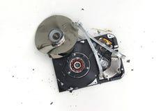 Unité de disque dur battue Images stock
