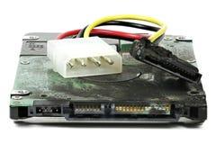Unité de disque dur carbonisée Images libres de droits