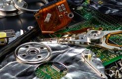 Unité de disque dur démantelée Photos stock