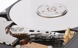 Unité de disque dur désassemblée Images libres de droits
