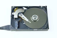 Unité de disque dur d'isolement à partir de l'ordinateur Image stock