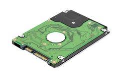 Unité de disque dur de l'ordinateur portatif SATA Photo stock