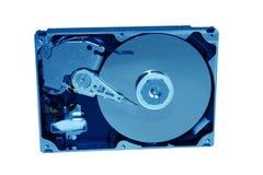 Unité de disque dur de tonalité bleue Image libre de droits