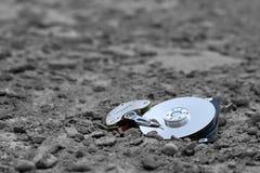 unité de disque dur - données perdues Images stock