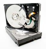 Unité de disque dur endommagée d'ordinateur Images libres de droits