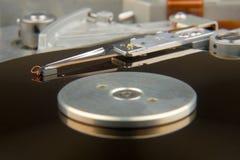 Unité de disque dur exposée Photo stock