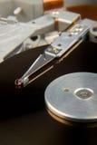 Unité de disque dur exposée photographie stock libre de droits