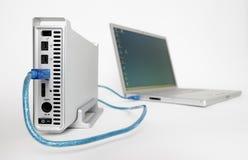 Unité de disque dur externe Photos libres de droits
