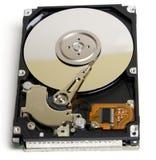 Unité de disque dur ouverte d'ordinateur portatif image libre de droits