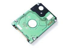Unité de disque dur pour l'ordinateur portatif sur le fond blanc Photographie stock