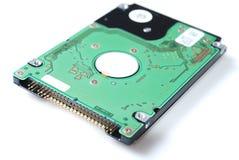 Unité de disque dur pour l'ordinateur portatif sur le fond blanc Image libre de droits