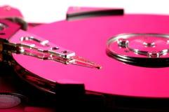 Unité de disque dur rose Photographie stock libre de droits