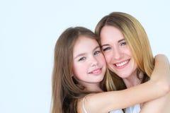 Unité de famille proche de relations d'enfant de parent d'amour Images stock
