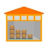 Unité de stockage illustration de vecteur