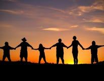 Unité et force Image libre de droits