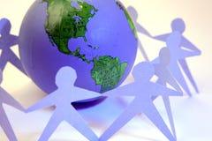 Unité globale Photographie stock