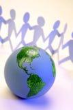 Unité globale Photos stock
