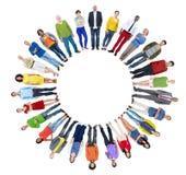 Unité multi-ethnique Co d'unité de variation d'appartenance ethnique de diversité Photographie stock